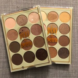 Pixi by Petra eye shadow pallets